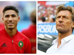 Morocco's Hakimi, Renard Among Finalists in 2018 CAF Awards