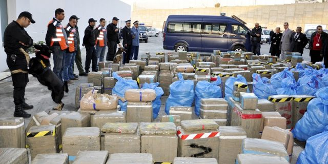 Moroccan Police Seizes 15 Tons of Cannabis Resin in Tangier