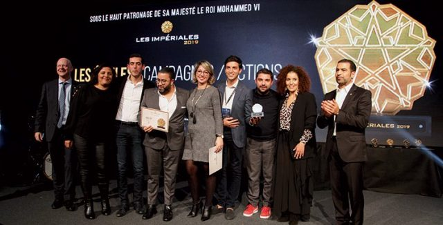 Morocco's RAM Wins 3 Awards at Les Imperiales 2019 Awards for Branding