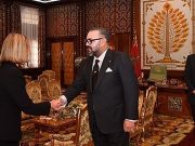 King Mohammed VI Receives EU's Federica Mogherini to Talk Partnership