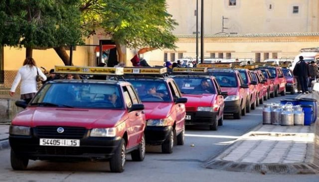 Taxi Drivers on 6th Day of Strike in Fez