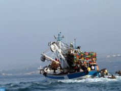 Sardine Boat Sinks in Morocco's Tarfaya, Royal Navy Rescues 20 Men