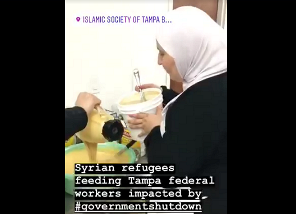 Florida's Muslim Community Helps Workers Impacted by Government Shutdown
