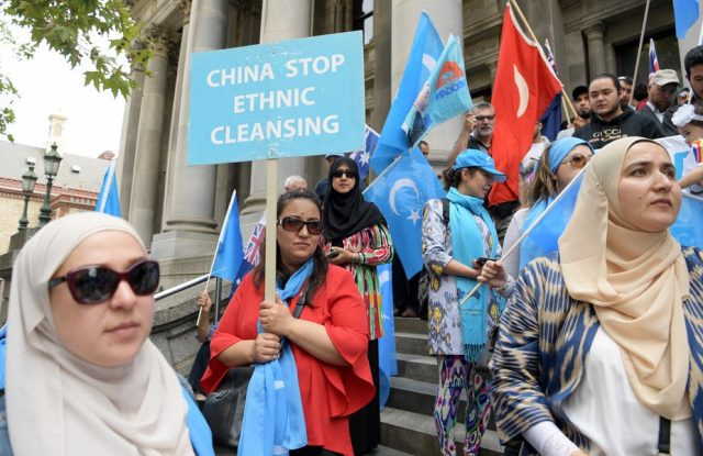 US Seeks to Sanction China over 'Mass Detention' of Chinese Muslims