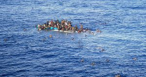 53 Migrants Dead after Boat Overturns in the Mediterranean, Only 1 Survivor