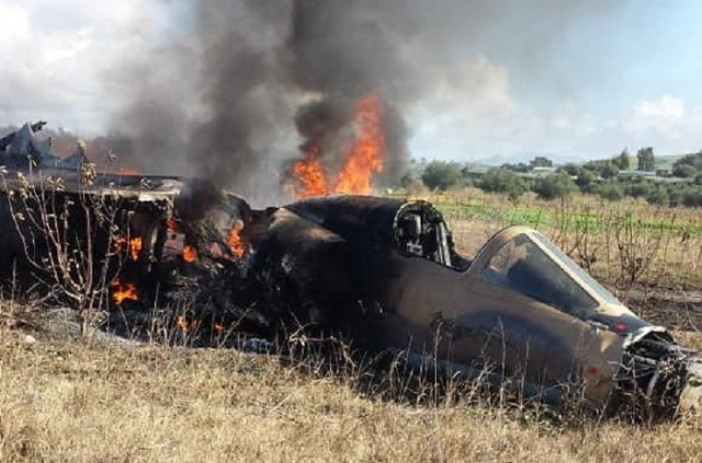 Video Captures Moroccan Pilot Ejecting From Mirage F1 Crash