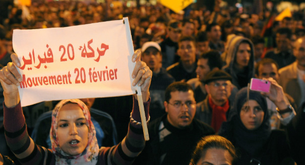 Moroccans Greet Anniversary of 20 February Movement with General Strike
