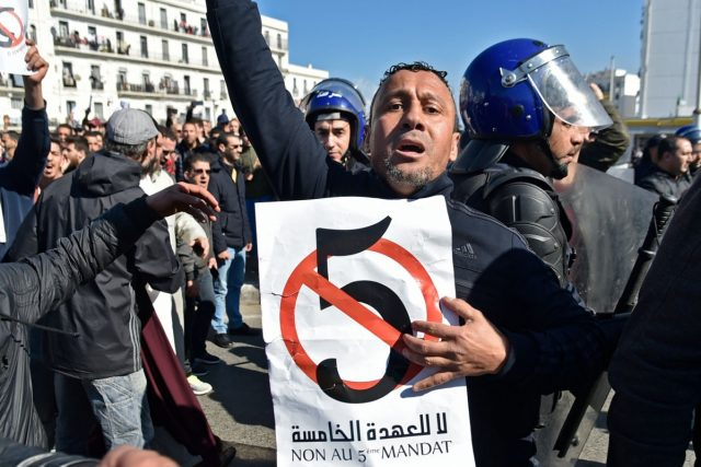 New Wave of Protests Oppose Bouteflika's Re-Election in Algeria