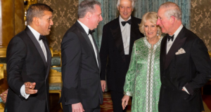 Prince Charles' Wife Camilla Parker Bowles Spotted in Beautiful Moroccan Caftan