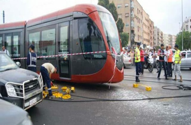 Cyclist Dies in Casablanca Tramway Accident