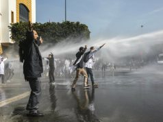 DGSN: We Used Water Cannons During Teacher Protest to Maintain Order