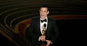 Egyptian-American Actor Rami Malek Wins Oscar for Best Actor