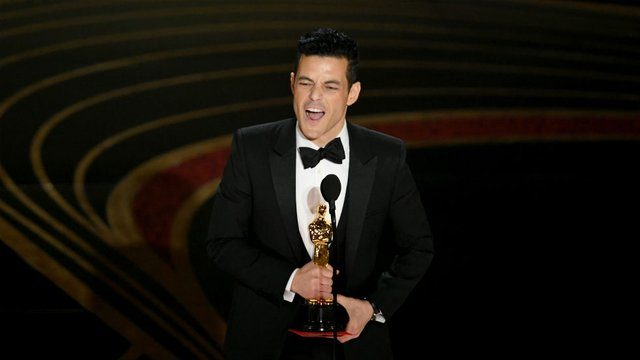 Egyptian-American Actor Rami Malek Wins Oscar for Best Actor