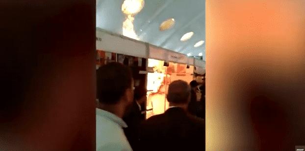 Fire Breaks Out at Casablanca International Book Fair