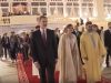 King Mohammed VI Offers his Cape to Queen Letizia of Spain