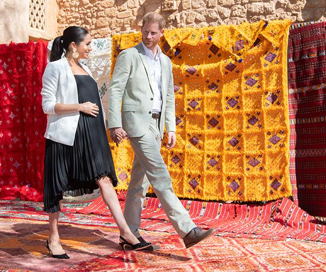 Duchess Meghan Markle's Entire Morocco Wardrobe Cost £111,000