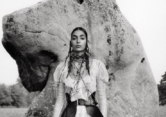 Moroccan Model Poses for Alexander McQueen After Chanel Success