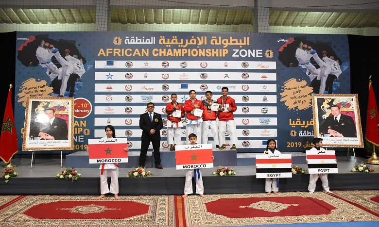Morocco Claim 8 Gold Medals in the African Karate Championship
