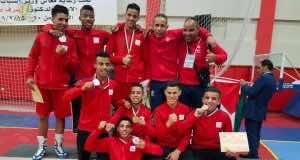 Moroccan boxing team