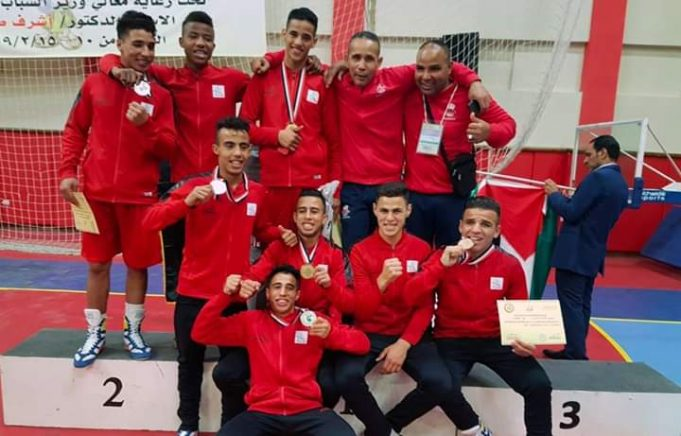 Moroccan boxing team