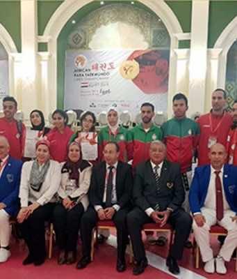 Morocco Wins 2 Medals at African Para-Taekwondo Open Championship