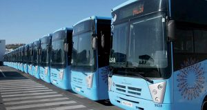 Alsa buses in Tangier