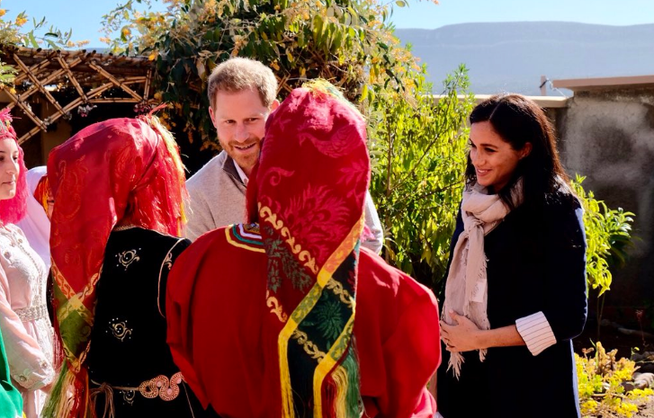 Duchess Meghan Markle, Prince Harry Explore Morocco's Atlas Mountains