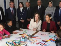 Princess Lalla Meryem and Queen Letizia