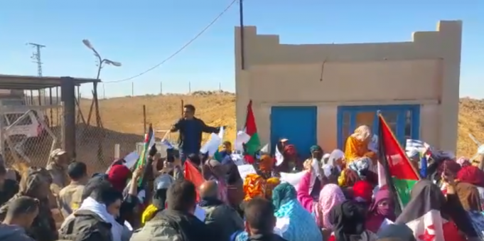 Sahrawis in Tindouf Protest Against Algeria over El Khalil Kidnapping