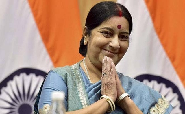 Minister Sushma Swaraj