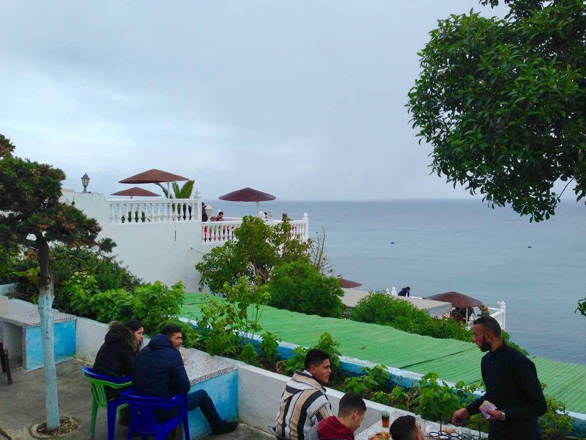 Cafe Hafa in Tangier