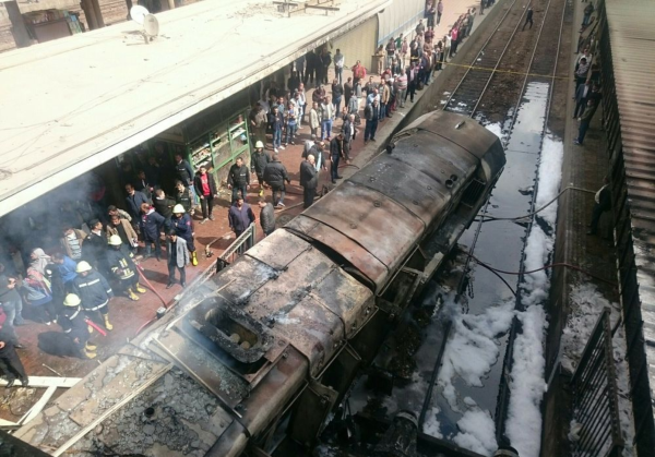 Train Explodes in Egypt, Kills 25 People, Injures 50