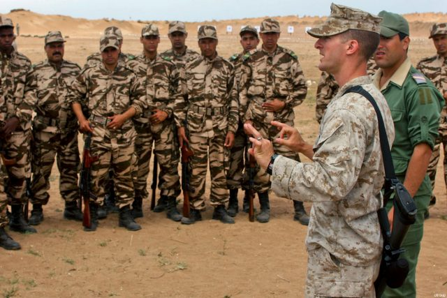 US Carries Out War Games with Four Maghreb Countries