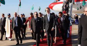 King Felipe VI, Queen Letizia of Spain Arrive in Morocco