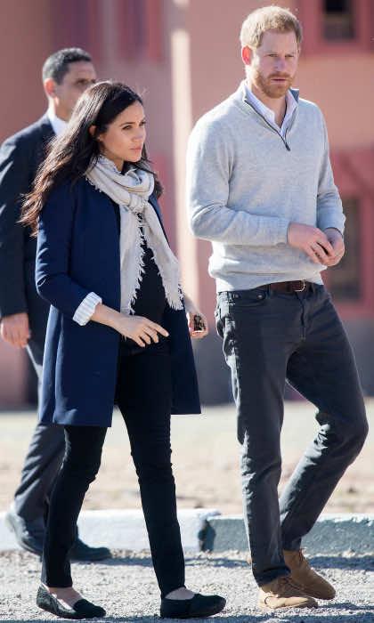 Duchess Meghan Markle's Entire Morocco Wardrobe Cost £111,000