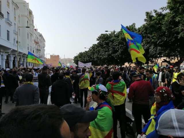 Hundreds in Rabat Protest Land Expropriation, Marginalization, Overgrazing