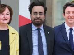 Nathalie Loiseau, Mounir Mahjoubi and Benjamin Griveaux