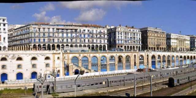 Algiers central train station