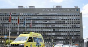 The hospital where Bouteflika is being treated.
