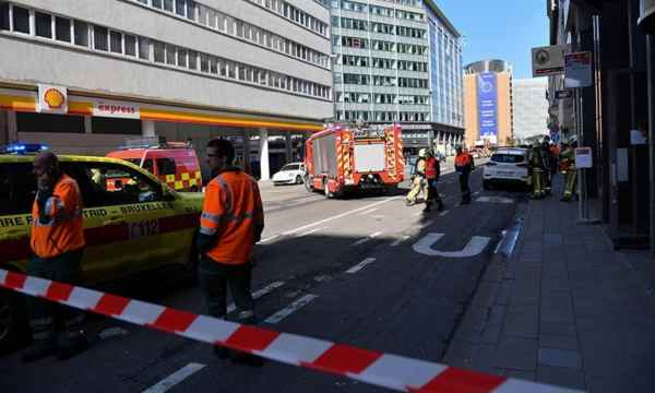 Brussels Closes off EU Area After Bomb Alert