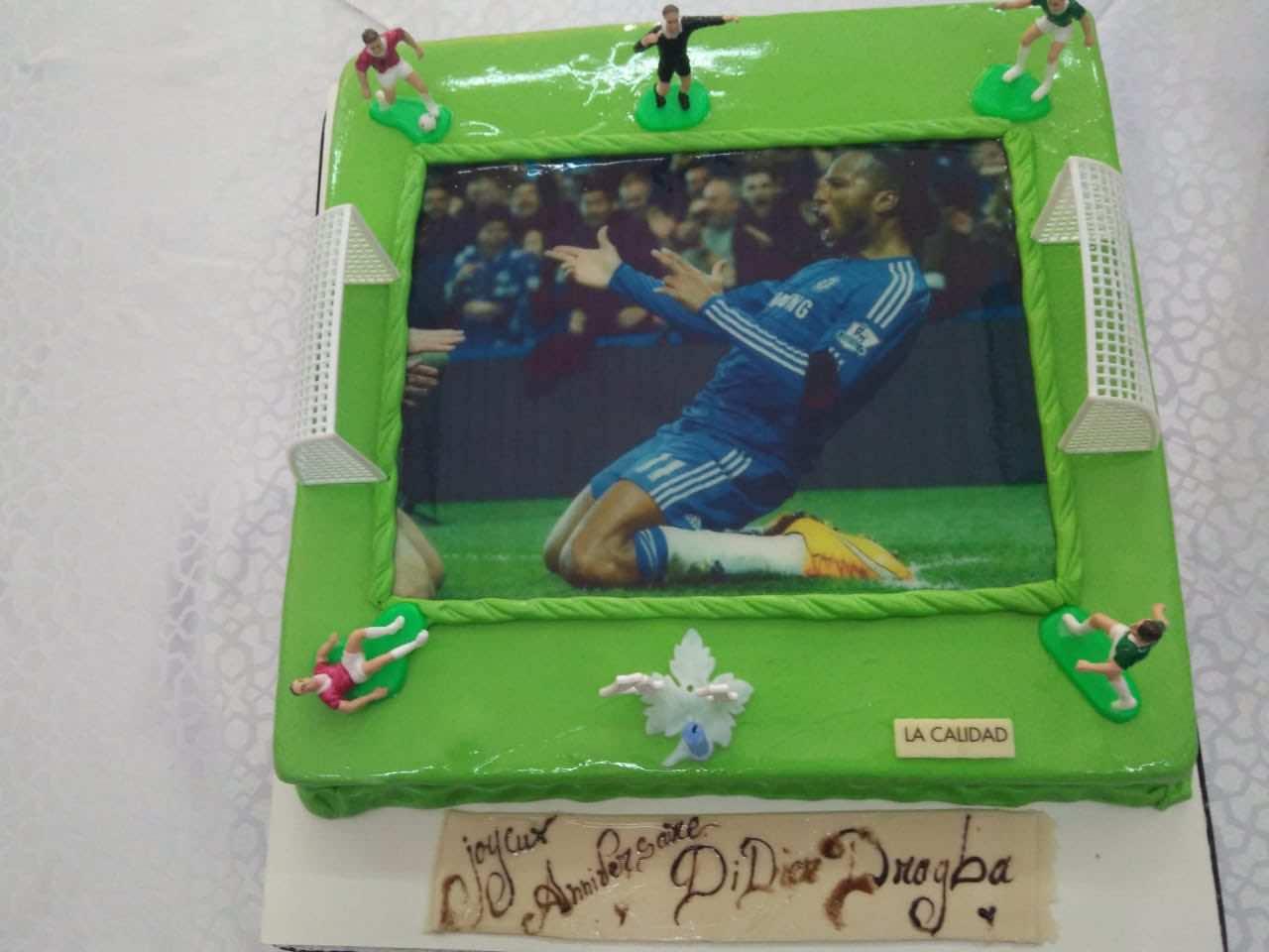 Didier Drogba birthday cake