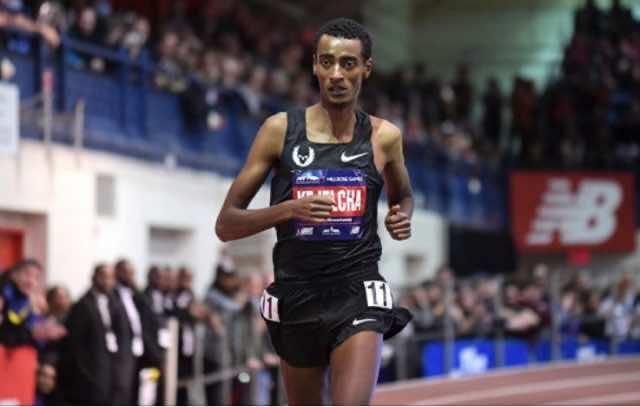 Ethiopia's Yomif Kejelcha Breaks El Guerrouj's Record for Indoor Mile