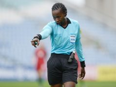 Referee Jones Rukyaa Kabakama