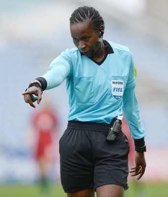 Referee Jones Rukyaa Kabakama