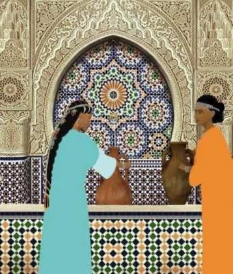 "Scene from Ocelot's ""Azur & Asmar: The Princes' Quest"""
