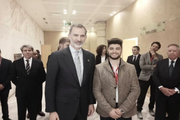 Moroccan Attends Model UN in Madrid, Petitions King of Spain