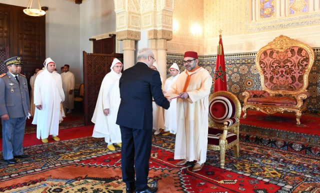 King Mohammed VI Receives Several Foreign Ambassadors at Rabat Royal Palace