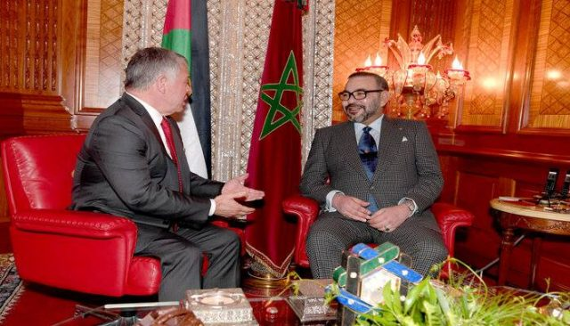 King Mohammed VI and King Abdullah II of Jordan
