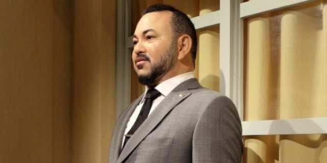 Paris Wax Museum Renovates King Mohammed VI Wax Statue