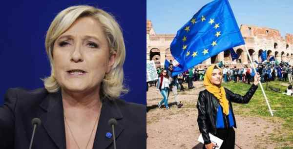 Marine Le Pen Criticizes Moroccan Hijabi Young European of the Year